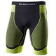 X-Bionic Effektor Power Running Pants Short Men Black/Yellow